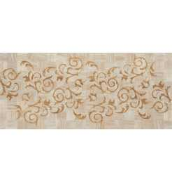 katherina rev decor volutas crema Плитка настенная Plaza Ceramica